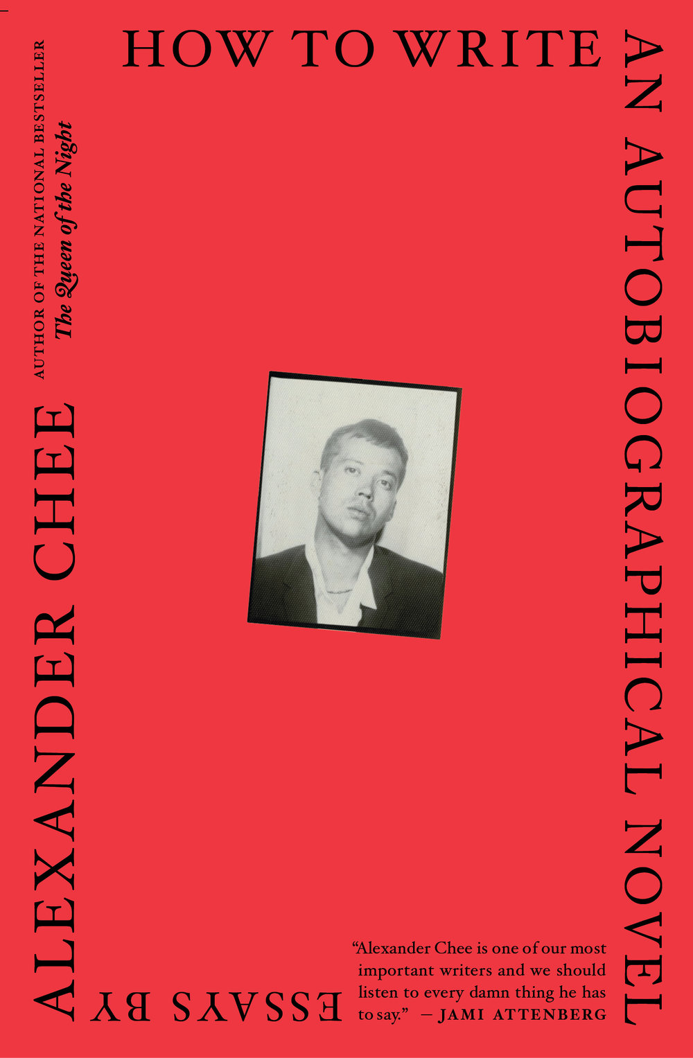 Image result for alexander chee how to write an autobiographical novel